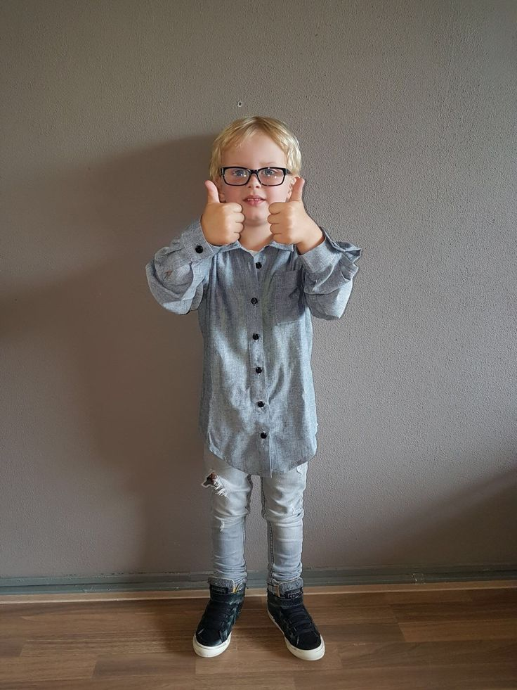 Jongens overhemd Naailessen Zeeland