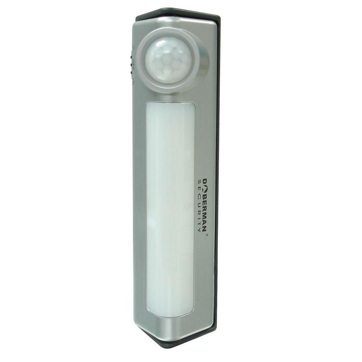 Doberman Security Motion Detector Light/Alarm Combo-SE-0134A at The Home Depot