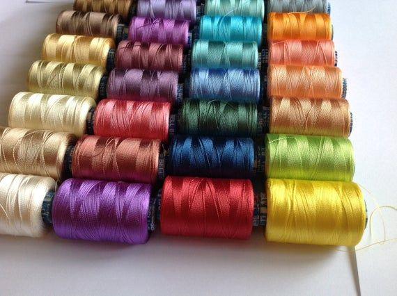 Silk Embroidery Beading Thread Silk Bead Cord Red Silk Thread 16 Yards Pure Silk Thread Embroidery Thread Silk Cord