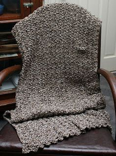 Crochet prayer shawls, like this free pattern, are such a comfort on dark and dreary days