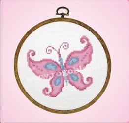 Botez fetita * Fluture Cod produs: 191.00 - 3706/100 Stoc: Pe stoc Culori: 6 Dimensiune: 14.5 x 14.5cm Pret: 25 lei