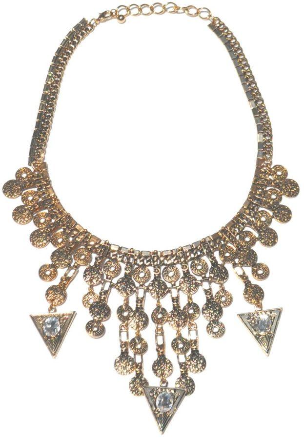 Minx Gold Spike Necklace