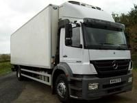 MERCEDES-BENZ AXOR 1828 REFRIGERATED TRUCK Diesel