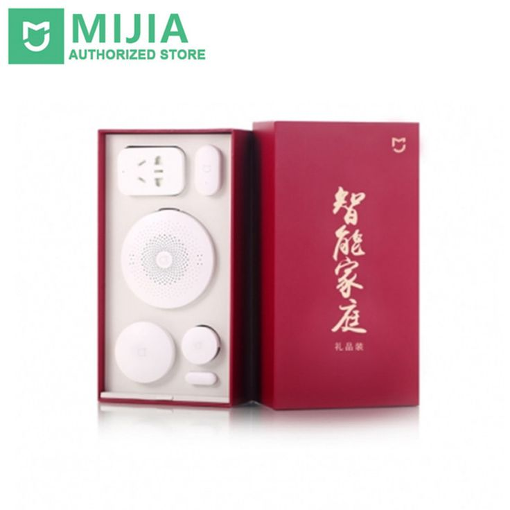 >> Click to Buy << Original Xiaomi Mijia Gift Box Smart Home Kit Gateway Door Window Sensor Human Body Sensor Wireless Switch Zigbee Socket Sets #Affiliate