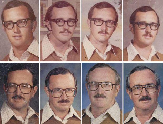 Série de fotos mostra as diferenças dos gêmeos idênticos                                                                                                                                                      Mais
