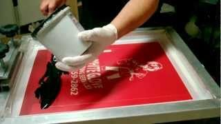 screen printing for beginners - YouTube