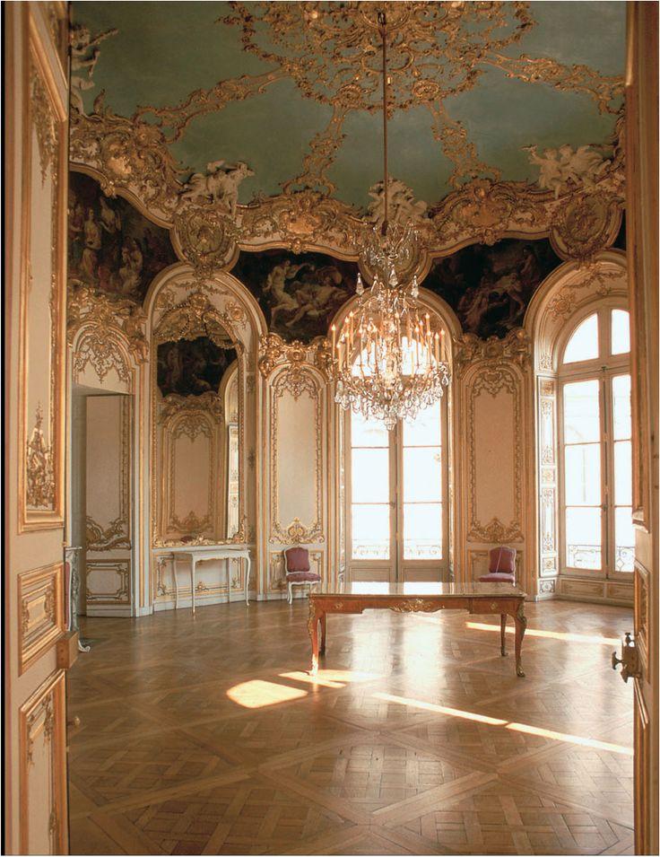 Rococo germain boffrand salon de la princesse h tel de soubise paris france 1737 1740 - Salon des arts creatifs paris ...