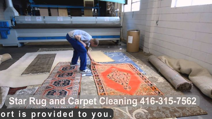 Pre cleaning procedure for rug cleaning services at plant by 5star.clean...