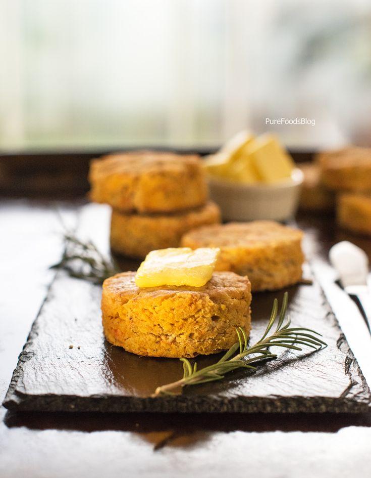"""cheesy"" sweet potato gluten free biscuits"