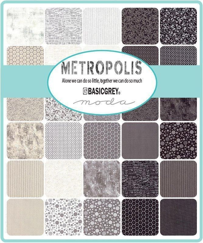 New Early Release Metropolis 42 10 Squares Moda By Basic Grey Layer Cake Blacks Neutrals Cream Ecr Basic Grey Precut Fabric Fabric Collection