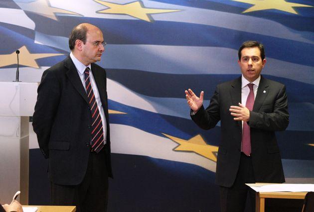 Συνάντηση Νότη Μηταράκη με δημοσιογράφους για τις προτεραιότητες της Ελληνικής Προεδρίας