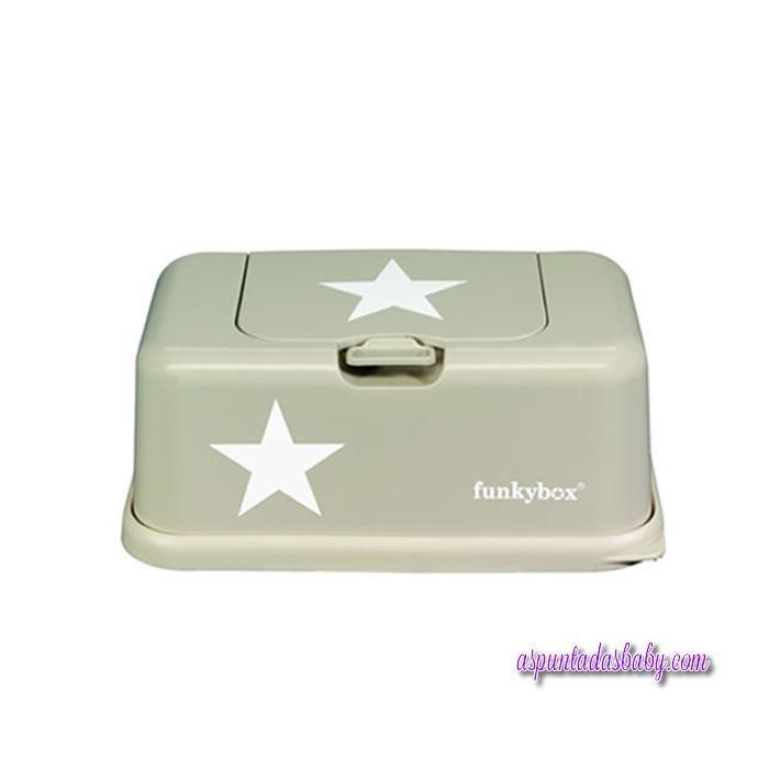 Caja Toallitas Funkybox mod. Beige Estrella