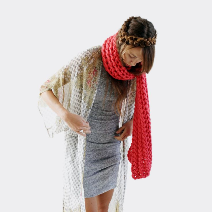 LANE scarf is new for 2016 from zed handmade