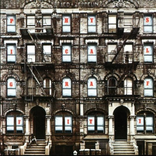 24th Feb 1975, Led Zeppelin released their sixth album Physical Graffiti in the UK. Recording sessions had been disrupted when bassist and keyboard player John Paul Jones had proposed quitting the band, supposedly to become choirmaster at Winchester Cathedral, England, although in reality he just needed time to rest after Zeppelin's demanding tour schedule. The group decided on a double album so they could feature songs left over from their previous albums Led Zeppelin III, Led Zeppelin IV
