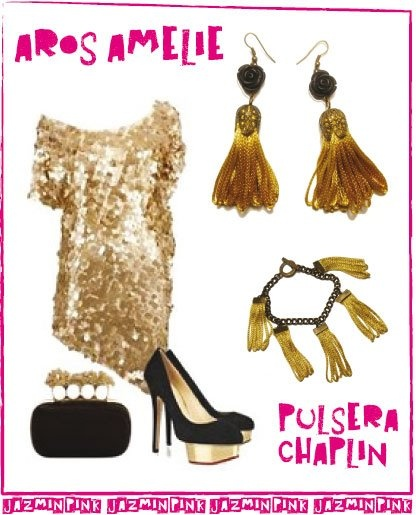 Outfit night #shine #flower #fashion #accessories #jewelry #mode #look #fashionaccessories #luxjewelry #bracelets #black #gold #style #earrings