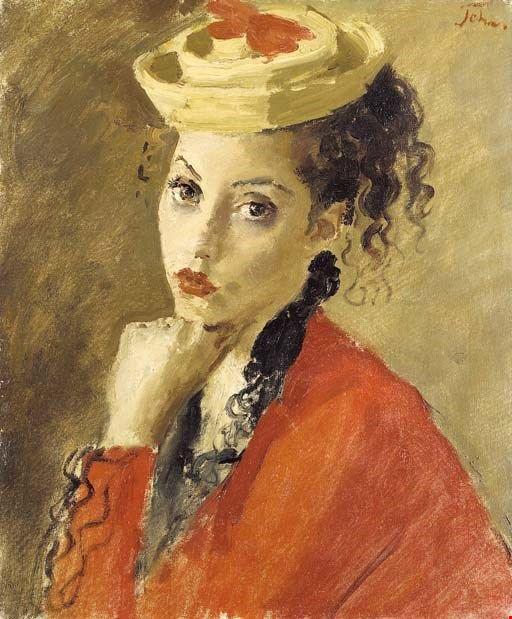 Augustus John - Портрет Мисс Дороти Дювина