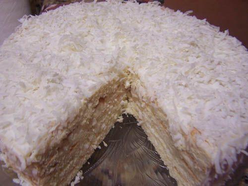 Кокосовые торты
