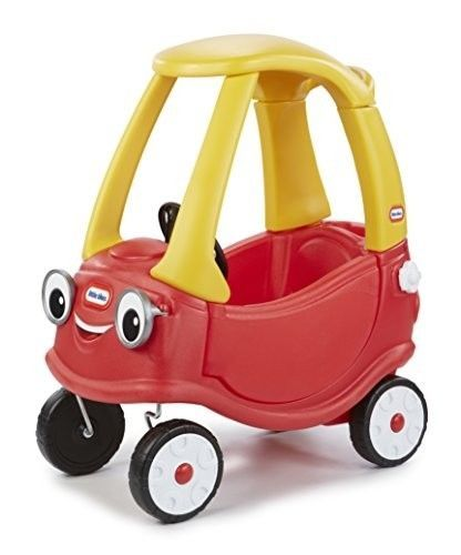Details About Little Tikes Retired Vintage Red Yellow Cozy Coupe Car