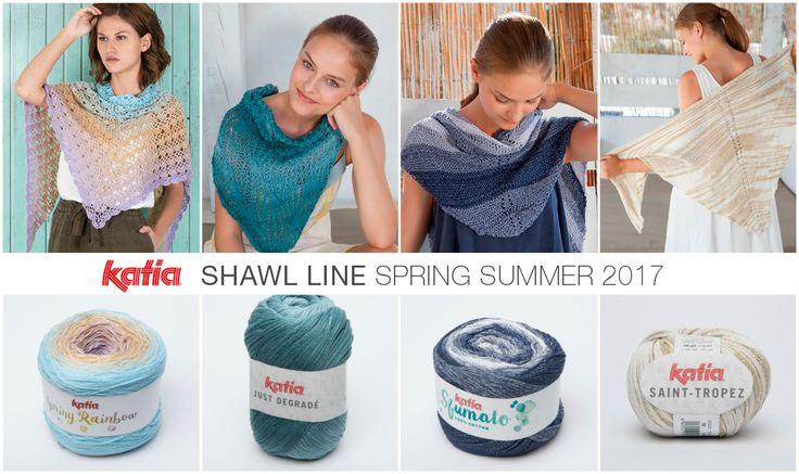 Calienta tus agujas con estas 5 novedades de la nueva Colección Katia Primavera Verano 2017   http://www.katia.com/blog/es/katia-primavera-verano-2017/