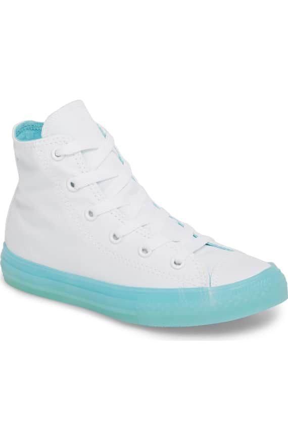 4420d501ac31 Aqua Jelly Chucks. Aqua Jelly Chucks Baby Sneakers