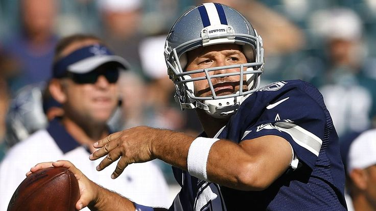 Cowboys to release all-time leading passer Tony Romo on Thursday