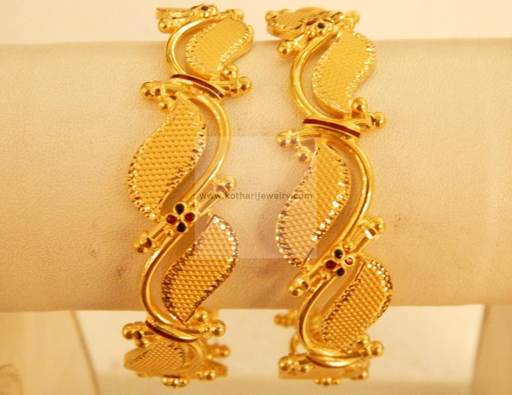 Bangles / Bracelets / Kada - Gold Jewellery Bangles / Bracelets / Kada (BG51485148-2.6) at USD 2,309.81 And EURO 2,135.78