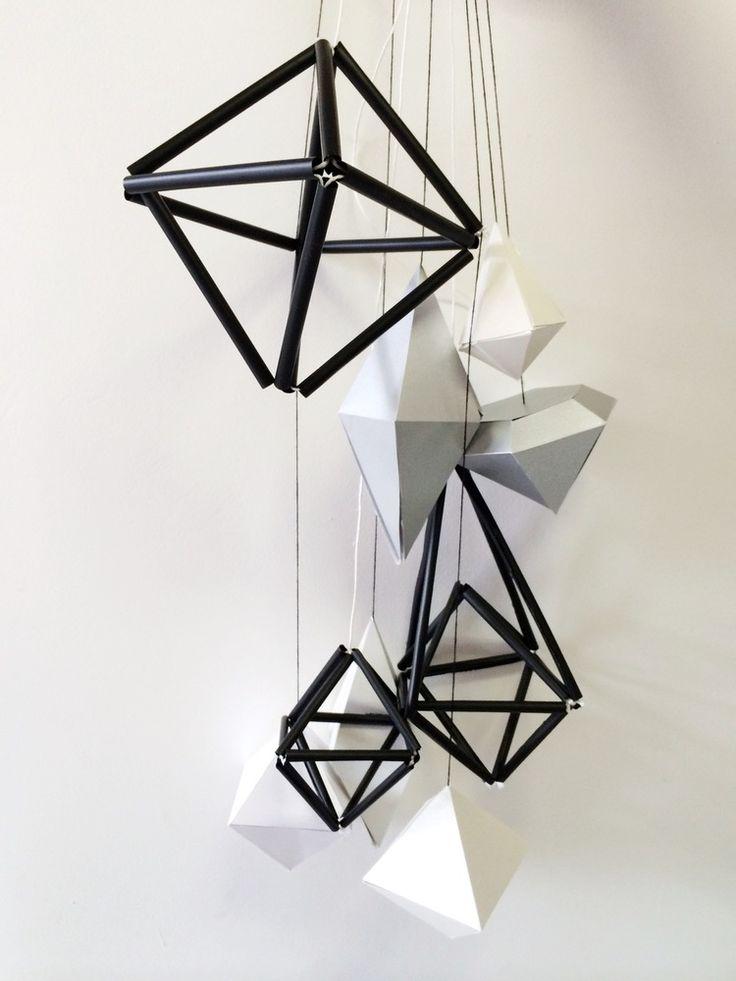 Kerst Decoratie hangers van Papier voor Libelle Kerst 2014