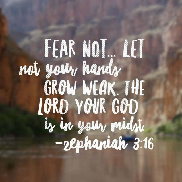 Fear not. The One who saves is with you. The One who created your hands promises to steady them if only you will allow him. The One who provides eternal salvation will also provide everyday solutions! #nofear #biblereading