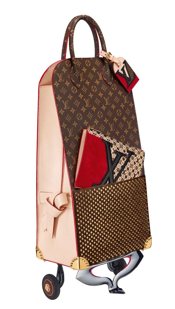 Christian Louboutin x Louis Vuitton luggage