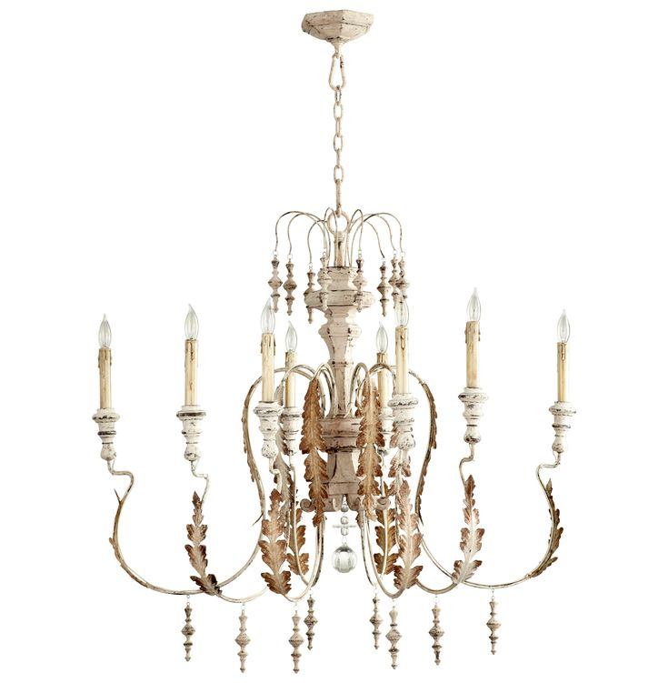 country lighting ideas. marion french country white washed 8 light chandelier lighting ideas l