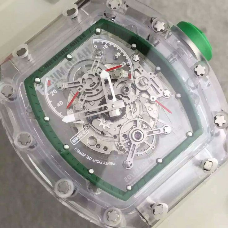 RM Watch transparent case New model for Richard Mille watches for sale online store