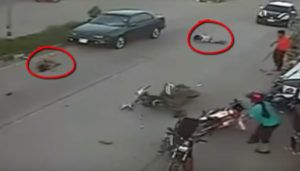 Disturbing accident video – not for the faint hearted