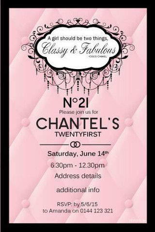 130 best Adult Birthday Invitations - Party Invitations images on - free 18th birthday invitation templates