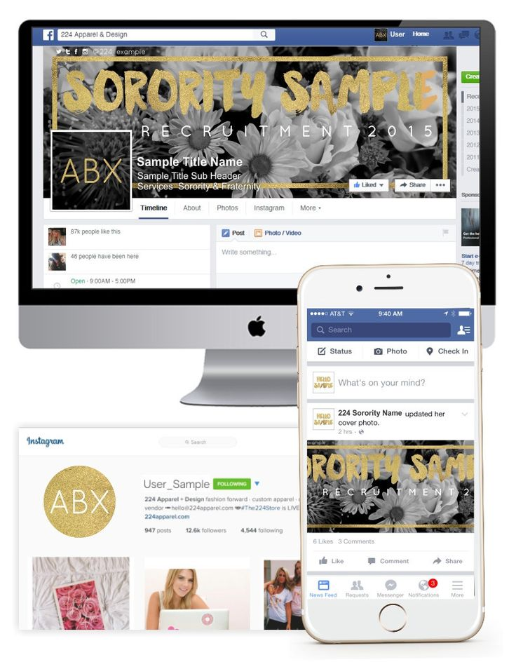 social-media-stra... #SocialMedia Fresh As A Daisy Customized Social Media Package | The 224 Store