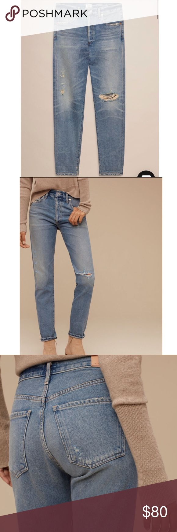 BNWT Citizens of Humanity Liya in Desperado Purchased final sale and unfortunately don't work for me. Citizens of Humanity Jeans Boyfriend