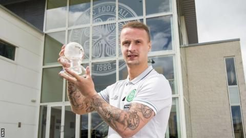 Celtic: 'Fired up' Leigh Griffiths targets six in-a-row