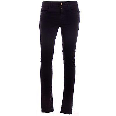 LINK: http://ift.tt/2pgUU40 - JEANS DONNA COLORE NERO #abbigliamento #donna #jeans => Jeans dalla vestibilità slim da donna con 5 tasche allacciatura frontale - LINK: http://ift.tt/2pgUU40