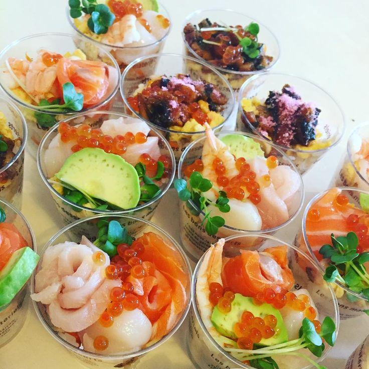 パーティーでも大人気♩パパッとできるカップ寿司のレシピ20選 - macaroni