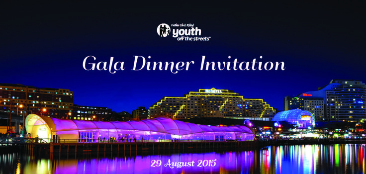 Gala Dinner 2015 - Youth Off The Streets