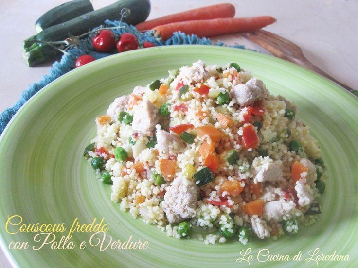Un delizioso piatto unico: Couscous freddo con pollo e verdure che vi conquisterà per il suo gusto e il suo squisito sapore, ideale anche per un…