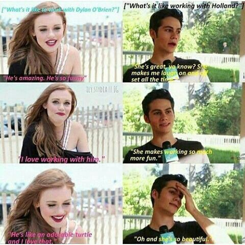 Holland and Dylan