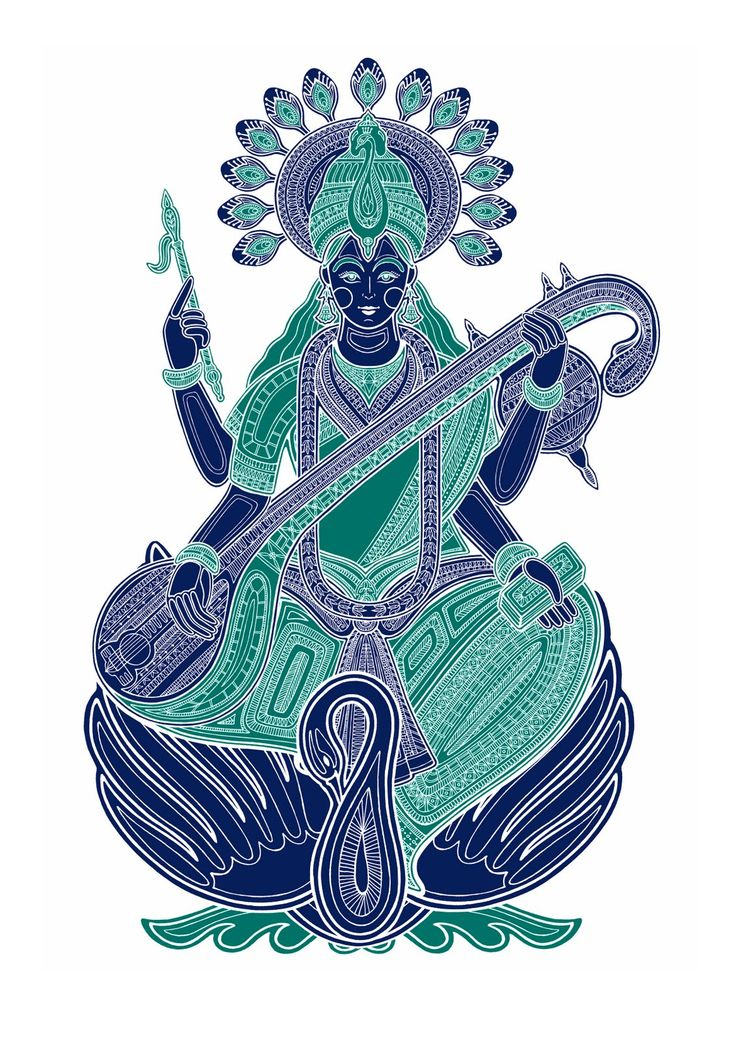 I just found these beautiful Hindu God silkscreen prints created by Poonam Mistry via Creative Review. Poonam is currently a third year student at the University of Hertfordshire's Graphic Design and Illustration course and has managed to exhibit her work at the D's New Blood show.