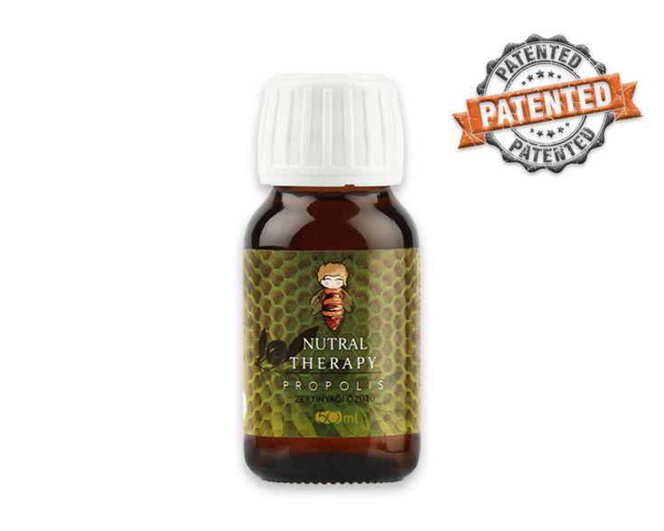 Nutral Therapy Propolis Zeytinyağı Özütü dünyada ilk kez alkol, glikol, propilen glikol, gliserol, etanol, su, kimyasal madde, katkı maddesi, tatlandırıcı, renklendirici ve koruyucu kullanılmadan üretilen tamamen doğal bir üründür.  Ürüne ulaşmak için tıklayınız: https://www.nutraltherapy.com/urun/nutral-therapy-propolis-zeytinyagi-ozutu/