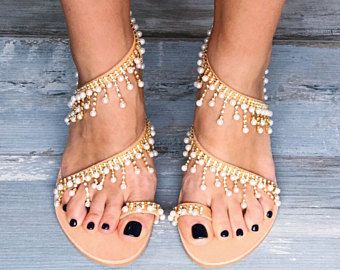 Best 25 Pearl Sandals Ideas On Pinterest Bridal Sandals