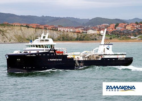 Zamakona Yards delivers the Live Fish Carrier RONJA POLARIS to Sølvtrans AS at the shipyard in Bilbao – Spain to the satisfaction to the Own...