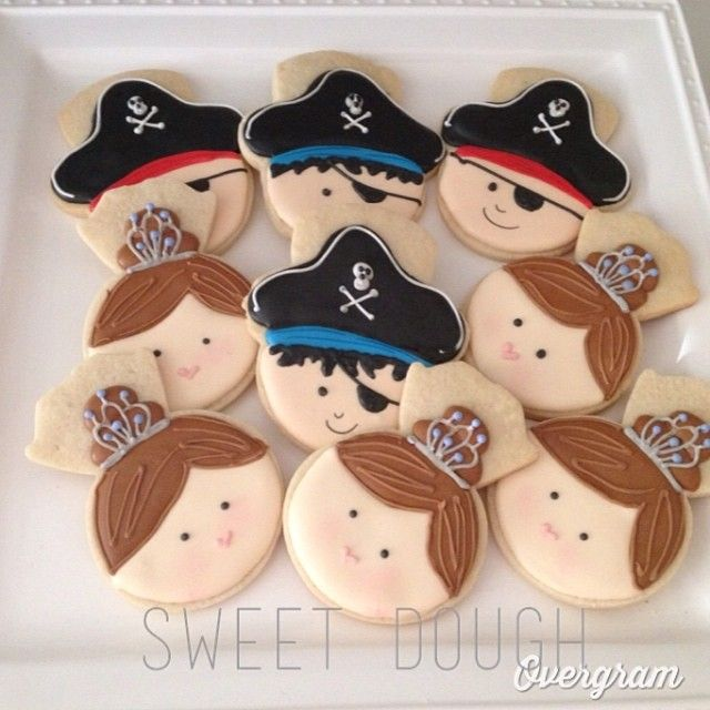 Princess and Pirate (Engagement Ring and Snowman Cookie Cutter)