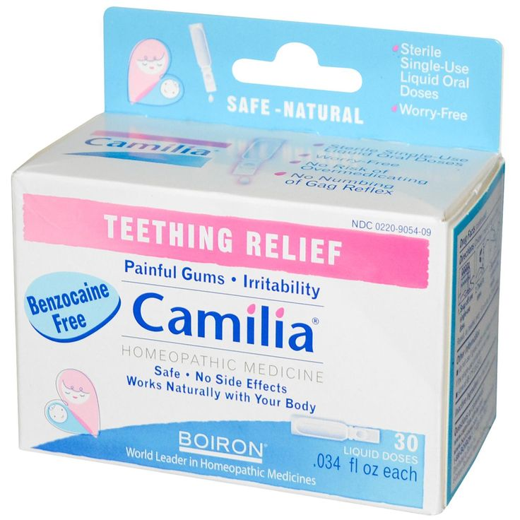 Boiron, Camilia, Teething Relief - use code ZAH000 for 10$ off iherb.com orders over 40$, or 5$ off - under 40$
