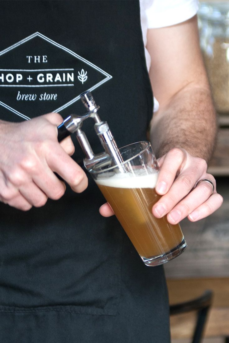 Marrickville's one stop home brew shop The Hop and Grain Brew Store also runs brewing classes for beginners.