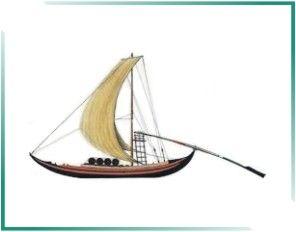 PORTUGAL MARÍTIMO: BARCOS TRADICIONAIS PORTUGUESES - Barco Rabelo