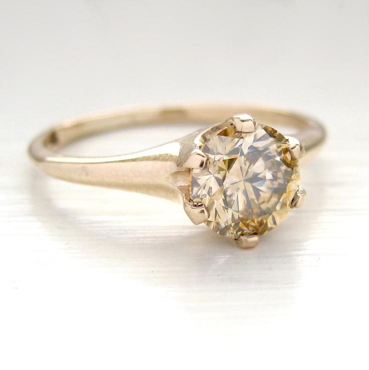 Carat Round Solitaire Diamond Engagement Ring
